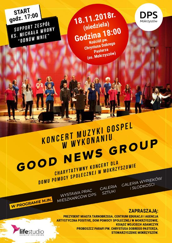Charytatywny koncert GOod News Group