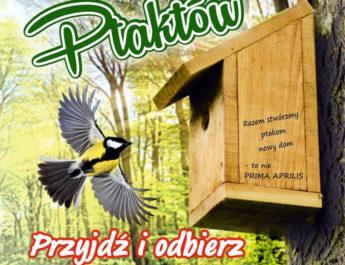Budki dla ptaków w Centrum Natura 2000