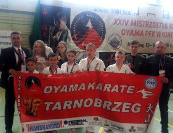 Dwa medale dla zawodników Oyama Karate z Tarnobrzega