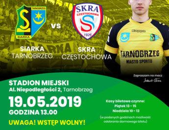 Mecz ze Skrą Częstochowa za darmo!