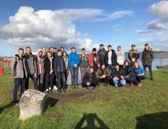"""Uczniowie """"Staszica"""" na praktykach w Galway"""