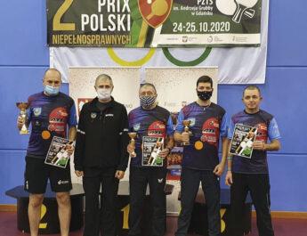 IKS JEZIORO Tarnobrzeg wraca z Gdańska z trzema medalami