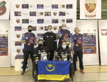 Cztery medale tenisistów stołowych IKS JEZIORO Tarnobrzeg