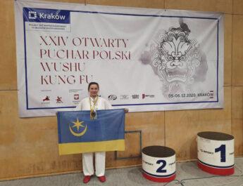Dwa medale dla zawodniczki szkoły Nan Bei Biały Żuraw