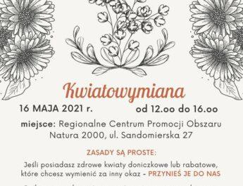 Kwiatowymiana w centrum Natura 2000